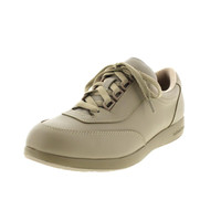 Hush Puppies Womens Leather Lace-Up Walking Shoes