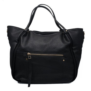 Quincy Handbag In Black