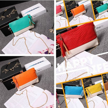 Ladies Wallet Zippers Mini Bags Purse [6049489153]