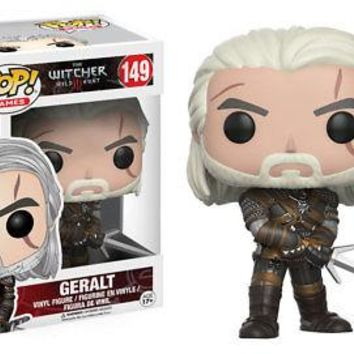 Funko Pop Games: Witcher - Geralt Vinyl Figure