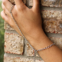 Silver Ring and Bracelet with Cross charm