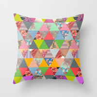 Lost in ▲ Throw Pillow by Bianca Green