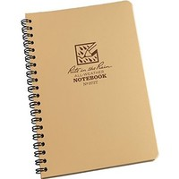 "J.l. Darling Rite in the Rain 8 1/2"" x 11"" Tan Maxi Spiral Notebook"