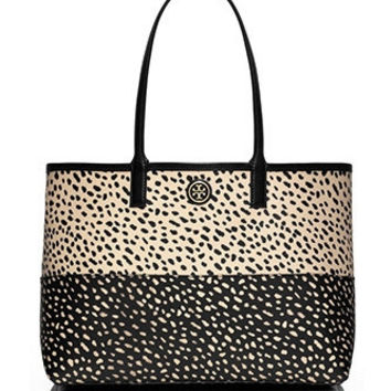 Tory Burch Kerrington Dotted Pony Shopper Tote