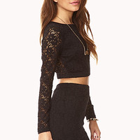 Garden Chic Crop Top | FOREVER 21 - 2000129226