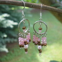 RESERVED For CraftStar Boutique In A BoxDangle Earrings - Handmade Jewelry by Steampunk Beadery