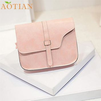 AOTIAN Women Girl Shoulder Bag Faux Leather Satchel Crossbody Tote HandbagFashion Hot New DropShipping 73-03
