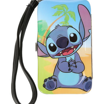 Disney Lilo And Stitch Beach iPhone 4/4S/5 Hinge Wallet