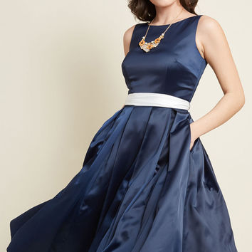 Collectif x MC Jazzy Classic Fit and Flare Dress