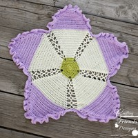 Pattern: Ribbon & Lace Afghan