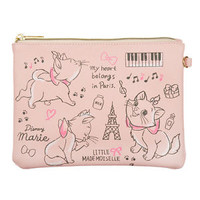 Marie Cat Flat Pouch Customize ❤ Disney Store Japan The Aristocats
