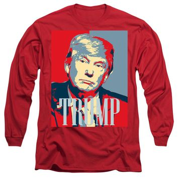 President Donald Trump Hope Poster 2 - Long Sleeve T-Shirt