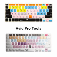 For iMac ,Macbook Pro Air 13 15 Avid Pro Tools Shortcut keys Keyboard Protector Skin Cover KC_A1278_TY_AvidProTools