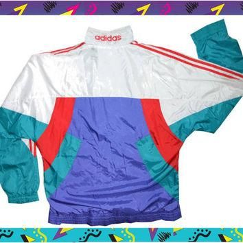 90s Adidas jacket size M/L female or male M