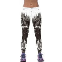 Gothic Batman Female Workout Leggings