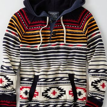 AEO Men's Baja Sweater (Navy)