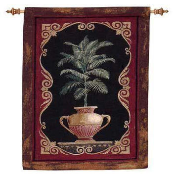 Wall Tapestry - Tuscan Plant Motif