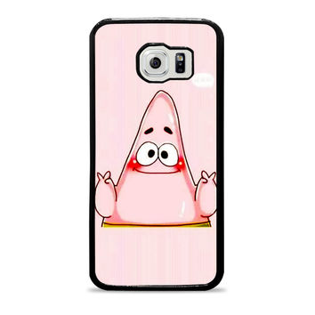 spongebob and patrick best friend 2 cartoon couple Samsung Galaxy S6 Case