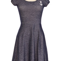Indigo Blue Sailor Doll Dress - PLASTICLAND