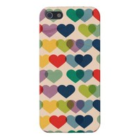 Valentine Heart Pattern Colorful Hearts