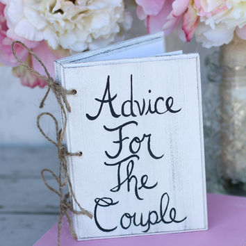 Bridal Shower Guest Book Shabby Chic Wedding Decor Advice For The Couple