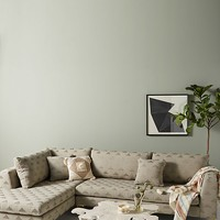 Geo-Metallic Edlyn Chaise Sectional