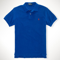 Custom-Fit Terry Cloth Polo