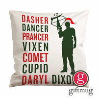 THE WALKING DEAD DARYL DIXON QUOTES Cushion Case / Pillow Case
