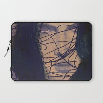 THE GIRL Laptop Sleeve by IN LIMBO ART | Society6