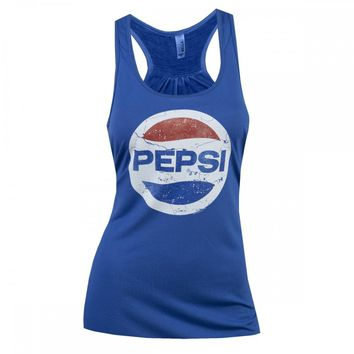 Pepsi Women's Circle Logo Tank Top | Pepsi | ShopTV