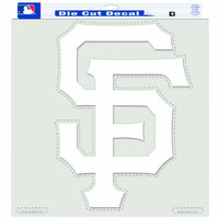 MLB San Francisco Giants - SF Logo - 18-By-18-Inch Diecut Decal