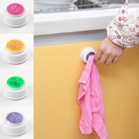 1x Wash Cloth Clip Holder Storage Bath Room Storage Hand Towel Hooks Rack kitchen Tools 4 Colors