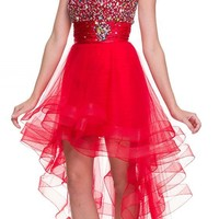 Juliet Dresses Women's Prom Gown with Removable Skirt