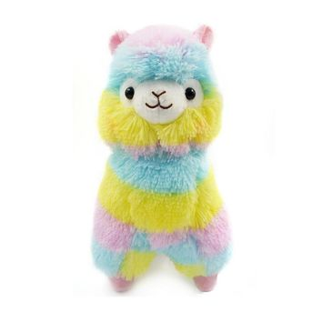 Muxika 13CM colorful Alpaca Llama Arpakasso Soft Plush Toy Doll Gift Cute Toys