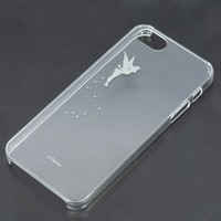 Iphone5 5s Clear Hard Cover - Disney - Tinker Bell