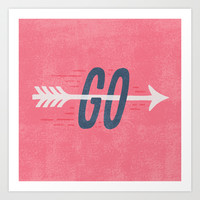 GO Art Print by Nick Nelson | Society6