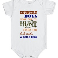 country boy baby Onesuit | One Piece | SKREENED
