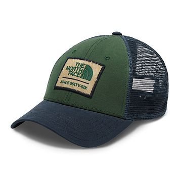 Patches Trucker Hat in Urban Navy, Smoke Pine & Vintage White by The North Face