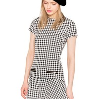 90's Houndstooth Dress