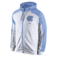 Nike GT Performance Full-Zip (UNC) Men's Basketball Hoodie Size LRG (White)