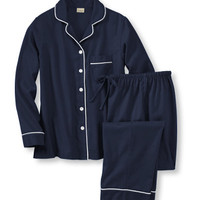 Women's Pima Flannel Pajama Set | Now on sale at L.L.Bean