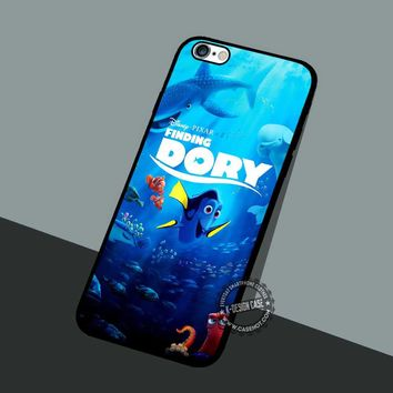 Poster Dory - iPhone 7 6 5 SE Cases & Covers #cartoon #animated #FindingNemo