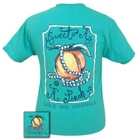 Girlie Girl Originals Preppy Sweet As A Peach T-Shirt