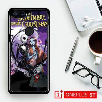Jack And Sally Muertitos The Nightmare Before Christmas C0092  OnePLus 5T / One Plus 5T Case