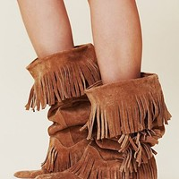 Free People Sedona Sneaker Mocc Boot