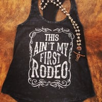 This ain't my first rodeo tank