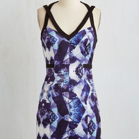 Mid-length Sleeveless Sheath Figment of Your Elevation Dress by ModCloth