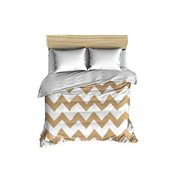 Chevron Large Scale Pattern Comforter