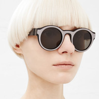 Totokaelo - Maison Martin Margiela Black / Grey Two Tone Sunglasses - $600.00