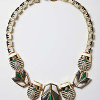 Anthropologie - Sparked Scarab Necklace